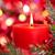 natal · vela · luz · de · velas · vermelho · brilho · fogo - foto stock © vitalina_rybakova