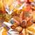 dankzegging · diner · decoratie · najaar · plaats · bladeren - stockfoto © Vitalina_Rybakova