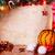 ünnep · gyertyák · karácsony · dekoráció · narancs · ódivatú - stock fotó © Vitalina_Rybakova