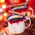 twee · koffie · decoratie · melk · cafe - stockfoto © vitalina_rybakova