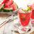smoothie · görögdinnye · díszített · menta · víz · üveg - stock fotó © vitalina_rybakova