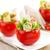 frescos · baguettes · tomates · rojo · placa - foto stock © vitalina_rybakova