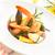 préparé · crevettes · plateau · citron · persil · vertical - photo stock © vitalina_rybakova