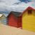 Avustralya · bayrak · kum · plaj · yaz - stok fotoğraf © vividrange