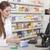 Druggist consults customer stock photo © vizualni