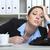 устал · секретарь · фото · деловая · женщина - Сток-фото © vizualni