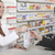 farmacêutico · cliente · farmácia · amigável · feminino · mãos - foto stock © vizualni