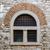 старые · окна · металл · баров · кирпичная · стена · дома - Сток-фото © vlaru