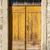 yellow ragged shabby wooden door stock photo © vlaru