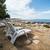 loungers on the rocky beach stock photo © vlaru
