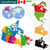 colorful canada map stock photo © volina