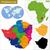 Zimbabwe · politiek · kaart · belangrijk · steden - stockfoto © volina