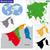 térkép · Brunei · néhány · absztrakt · világ · háttér - stock fotó © volina