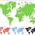 pont · világtérkép · üzlet · kék · színek · fények - stock fotó © volina