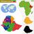 térkép · Etiópia · absztrakt · háttér · piros · kommunikáció - stock fotó © volina