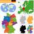 地図 · ベルリン · 背景 · 旅行 · 広場 · ドイツ - ストックフォト © volina