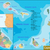 Afrika · térkép · csillagok · zászló · csillag · vidék - stock fotó © volina