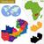 Zambia · politikai · térkép · keretek · fontos · városok - stock fotó © volina