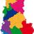 Albánia · Európa · zászló · köztársaság · 3D · izometrikus - stock fotó © volina
