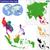 southeastern asia map stock photo © volina