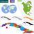 Kuba · térkép · színes · fővárosok · szín · diagram - stock fotó © volina