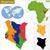 térkép · Kenya · utazás · rózsaszín · lila · vektor - stock fotó © volina