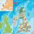 Büyük · Britanya · İngiltere · harita · kuzey · Avrupa · büyük · britanya - stok fotoğraf © volina