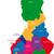 finland map stock photo © volina