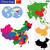 Азии · регион · политический · мира · иллюстрация · белый - Сток-фото © volina