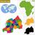 Руанда · политический · карта · важный - Сток-фото © volina