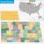 harita · Amerika · Birleşik · Devletleri · Kuzey · Dakota · soyut · arka · plan · iletişim - stok fotoğraf © volina