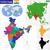 india map stock photo © volina