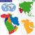 レバノン · アジア · フラグ · 共和国 · 3D · アイソメトリック - ストックフォト © volina
