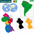 guyana map stock photo © volina