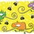 engraçado · desenho · animado · camaleão · verde · desenho · gráfico - foto stock © vook
