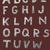 幼稚な · 手描き · アルファベット · パターン · オレンジ · 実例 - ストックフォト © vook