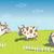 vacas · leite · ilustração · vaca - foto stock © vook