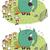 olifant · puzzel · kinderen · spel · cartoon · illustratie - stockfoto © vook