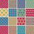 textil · végtelen · minta · szett · 16 · különböző · játékos - stock fotó © vook