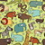 African Animals Seamless Pattern stock photo © VOOK