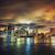 темно · ночь · Manhattan · Нью-Йорк · мнение · здании - Сток-фото © vwalakte