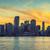 Miami · Florida · naplemente · üzlet · lakóövezeti · épületek - stock fotó © vwalakte