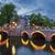 Amsterdam · gece · aziz · kilise · Hollanda · su - stok fotoğraf © vwalakte