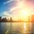 şehir · merkezinde · Miami · Florida · ABD · deniz · binalar - stok fotoğraf © vwalakte