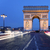 famous arc de triomphe by night stock photo © vwalakte