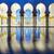 панорамный · мнение · мечети · Абу-Даби · воды · синий - Сток-фото © vwalakte