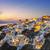 città · santorini · isola · Grecia · tramonto · noto - foto d'archivio © vwalakte