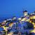 falu · éjszaka · Santorini · Görögország · ház · város - stock fotó © vwalakte