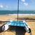 cubano · praia · Cuba · palavra · escrito · praia - foto stock © vwalakte