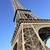 part of famous eiffel tower stock photo © vwalakte